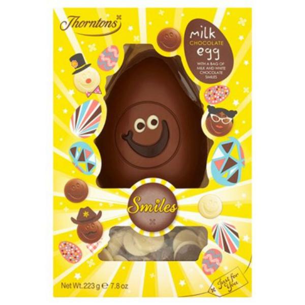 Easter Eggs 2015 - Thorntons  Milk Chocolate Smiles Easter Egg