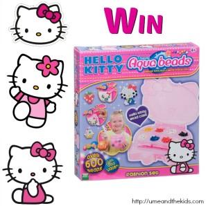 Win an Aqua Beads Hello Kitty Fashion Set
