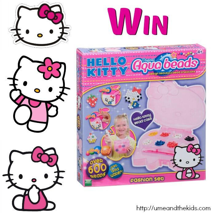 Win a Aqua Beads Hello Kitty Fashion Set