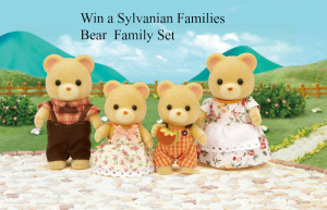 Win a Sylvanian Families Bear Family Set