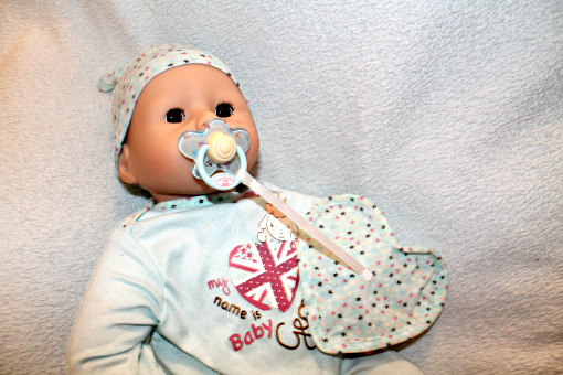 Baby Annabell Brother George Review - doll with dumy