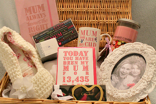 Mothers Day Gift Ideas - Create your own Mothers Day basket 2015