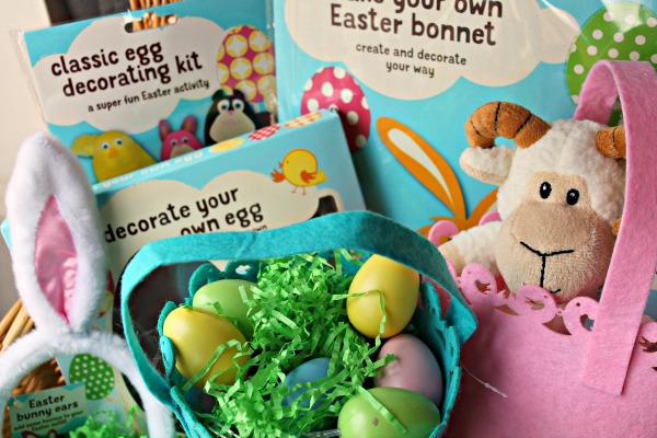 Easter gifts - How to make an Easter Basket on a Small Budget - The Gifts