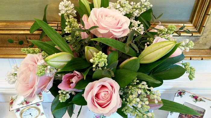 Mothers Day Flowers at Debenhams beautiful bouquet