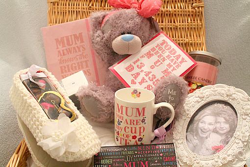 Create this fantastic mothers day basket for Luxury gifts for mom