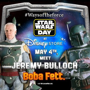 "Celebrate ""STAR WARS DAY"" May the 4th AT DISNEY STORE"
