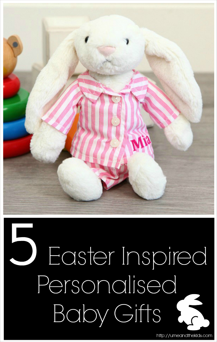 5 Easter Inspired Personalised Baby Gifts
