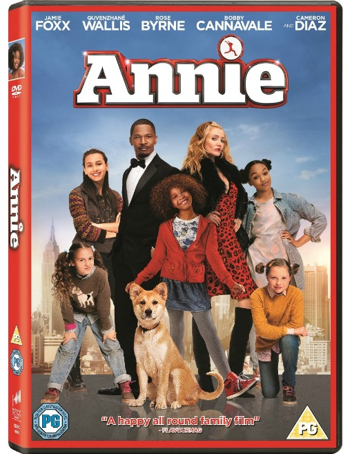 Family Movies Annie dvd cover 510 x 657