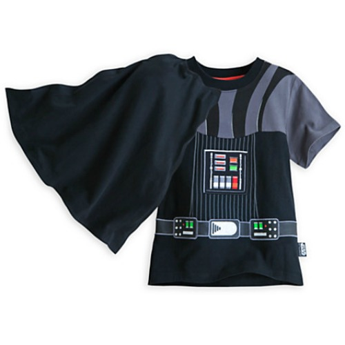 Darth Vader T-Shirt With Cape For Kids