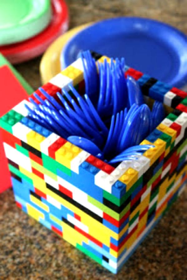 Lego_Birthday_Party_Ideas_utensil_holder