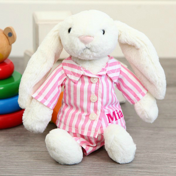 Personalised Baby Gifts Personalised Jellycat Bella Bunny Night time £22.00