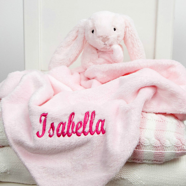 Personalised_Baby_Gifts_pink_bunny_comforter_£20.00
