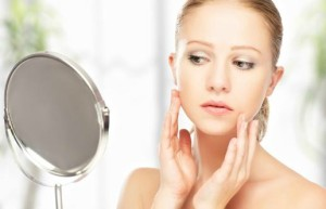 Does healthier skin improve confidence in young adults?