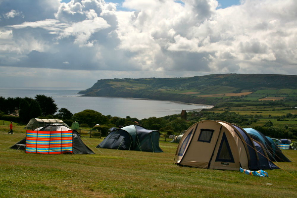 Places to go with kids|UK Campsites Hooks House Farm, Robin Hoods Bay, North Yorkshire
