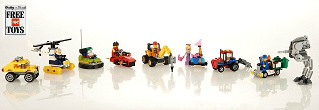 Daily Mail Lego 2015 Promotional Offer 16th to 24th May 2015