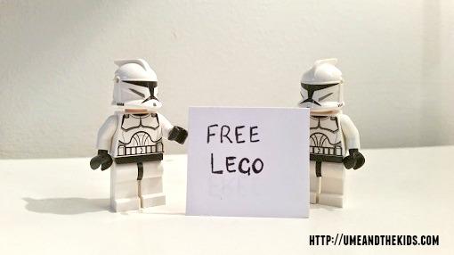 Daily Mail Lego 2015 free lego promotion