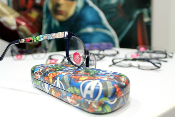 Disney Glasses Avengers Case and Glasses