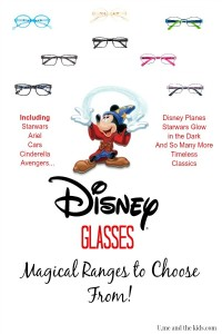 The New Disney Glasses range at Specsavers