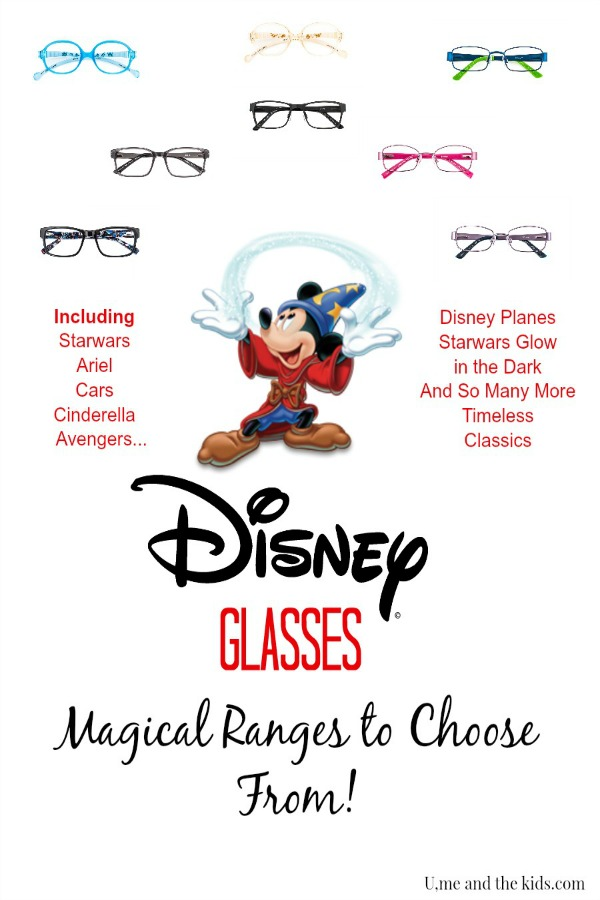 Disney Glasses Range at Specsavers uk