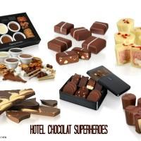 Gifts for men - Hotel Chocolat - Superheroes Range