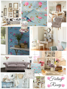 Home Decor Moodboard Inspired by Northern Rose Graham & Brown