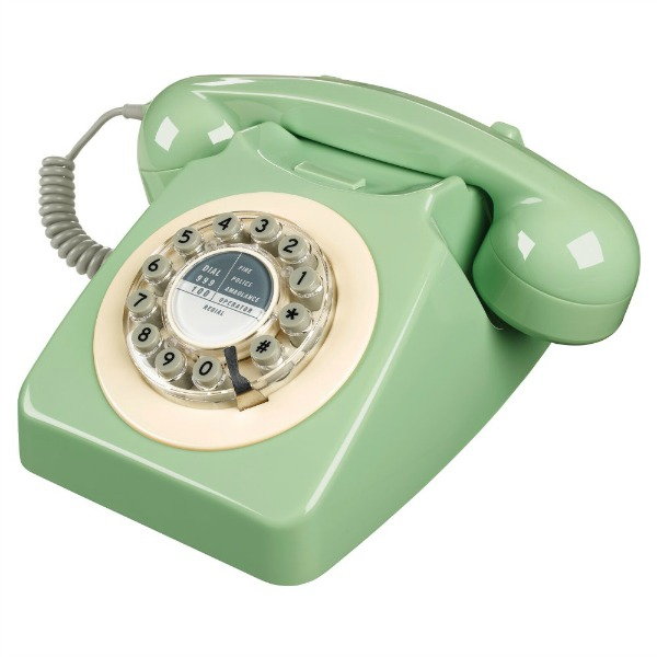 Wild and Wolf 746 Phone - Swedish Green