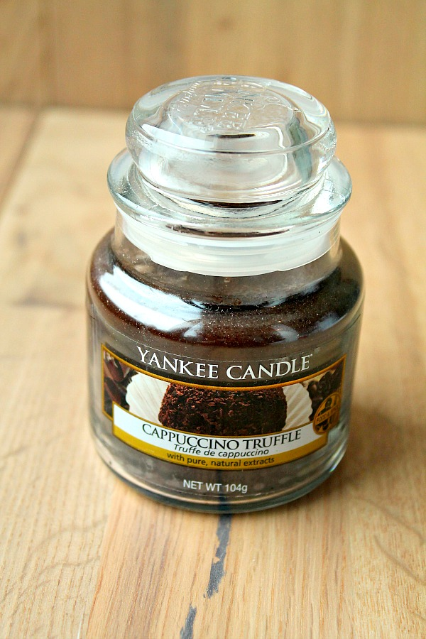 Home Decor ideas: Yankee Candle cappuchino Truffle
