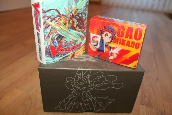 Trading Card Games Vanguard, Pokemon Elite and buddyfight Gao MIkado decks