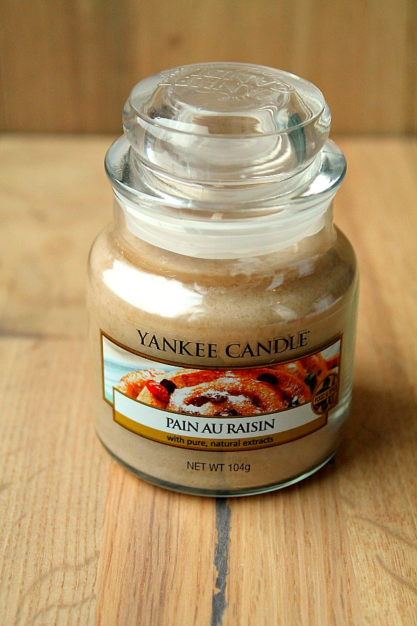 Home Decor ideas: Yankee Candle Pain AU Raisin