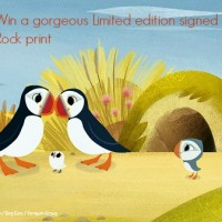 Puffin Rock exclusive Ltd edt print giveaway