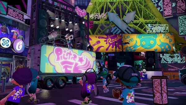 splatoon in game graphics