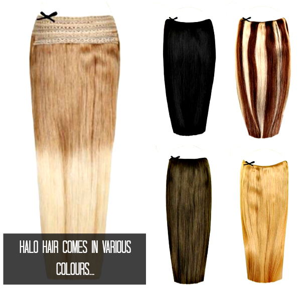 Hale Hair Extensions various colours and styles