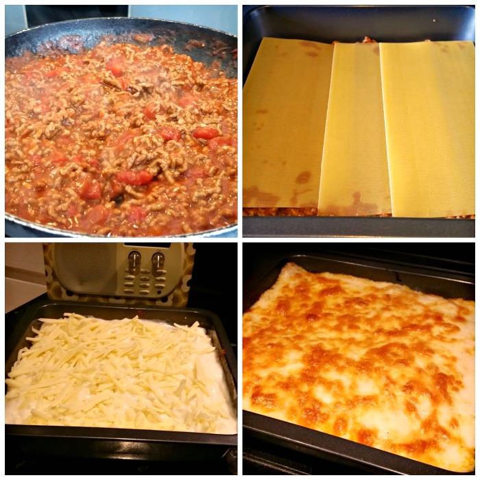 budget meals homemade lasagne