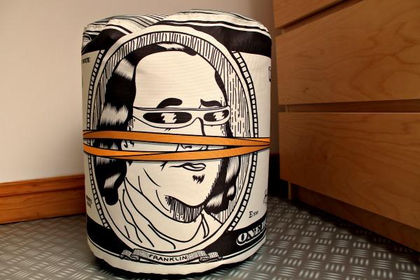 woouf dollar bean bag