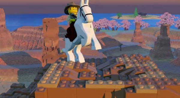 Lego Worlds Horses and Vehicles