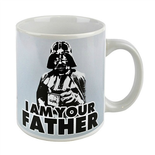 STAR WARS DARTH VADER FATHER MUG