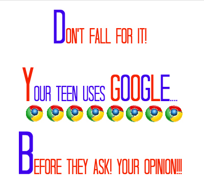 Teens use google