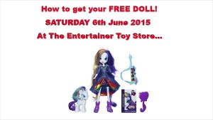 The Entertainer Toy Store Doll Swap Event 6th June 2015