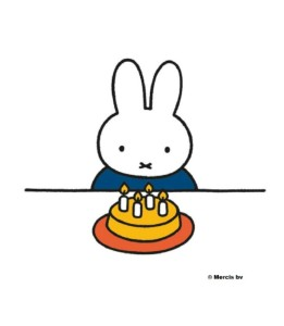 Miffy 60th Anniversary – Happy Birthday Miffy!