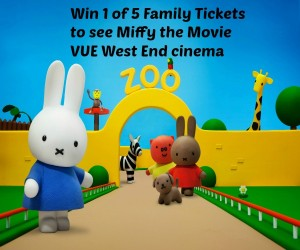 Win 1 of 5 Family Tickets to see Miffy the Movie at VUE West End cinema