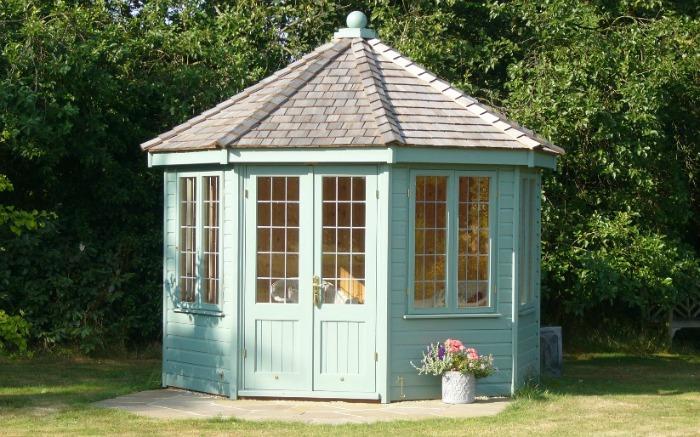 pastel summer house