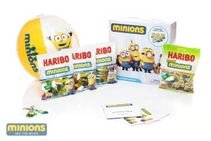 Win 1 of 5 HARIBO Minions goodies packs!