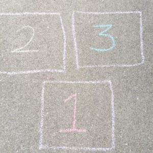 Going Old school - Hopscotch