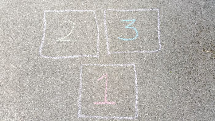 activities for kids - Hopscotch