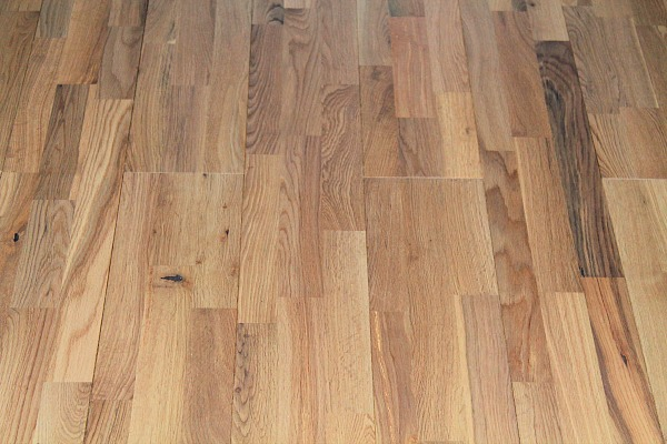 new real wood flooring