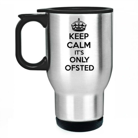 unique teacher gifts Keep Calm it's only ofsted