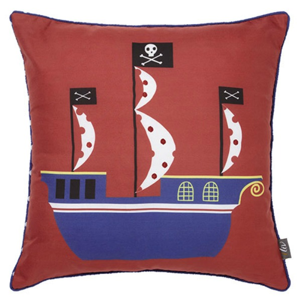 The Childrens Curtain Company - pirateship
