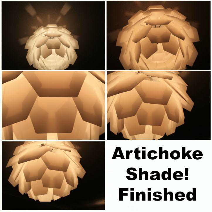 artichoke shade finished