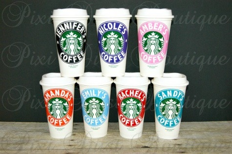 unique teacher gifts personalised starbucks coffee cup