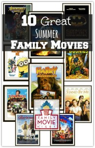 Top 10 Hot Family Summer Movies